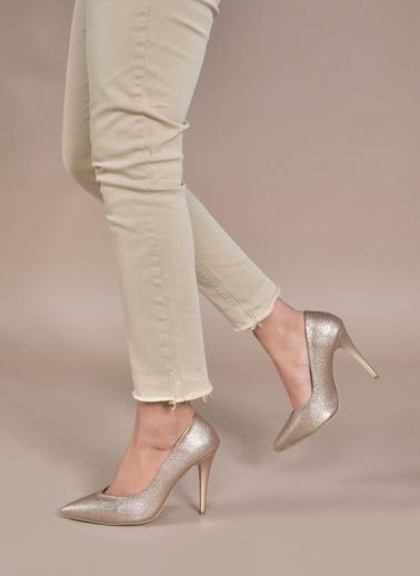 Vizon Ayakkabı Ayakkabı Altın